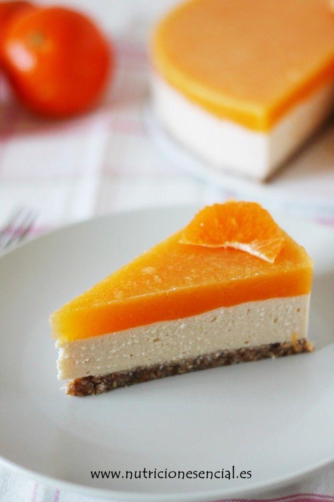 tarta yogurt y mandarina