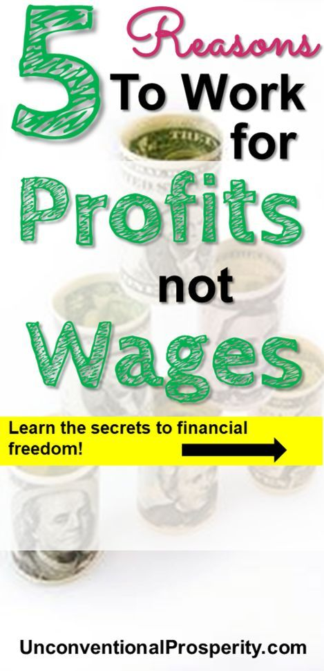 Are you sick of working for wages at a regular job? This awesome article discusses the 5 reasons why we have become much better off by working for profits and not for wages! The bottom line is that you will gain financial freedom by starting online businesses and making money online than you ever could at a normal job!