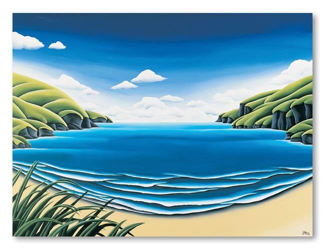 Mid-Summer. Diana Adams, NZ Artist.