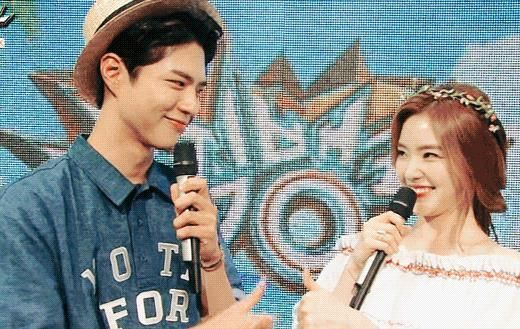 Park Bo Gum and Irene's Lovable Chemistry Get Fans' Attention