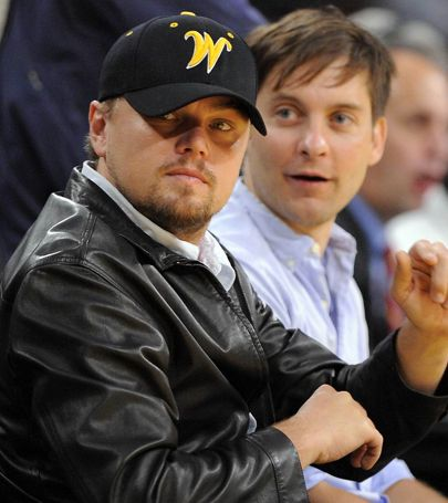 Even Leonardo (here, at the 2009 NBA Finals in L.A.) can recognize a good team when he see's one.  Go Shockers!!
