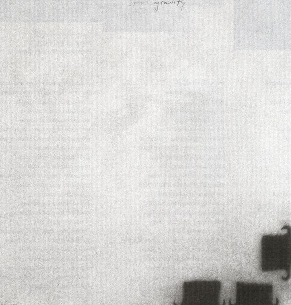Wes Mills, No title, 1997, graphite, pigment, paper, 5 ¾ x 6 inches. Courtesy Joseph Helman Gallery.