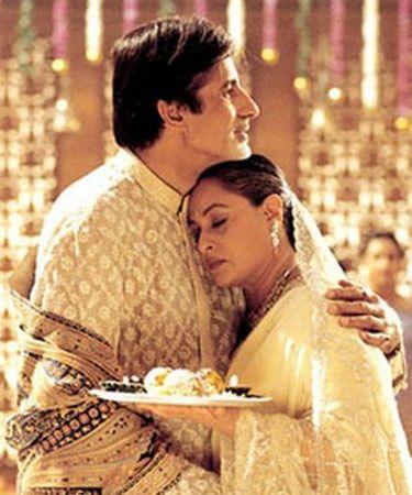 Amitabh and Jaya Bachchan - Kabhi Khushi Kabhie Gham (2001)