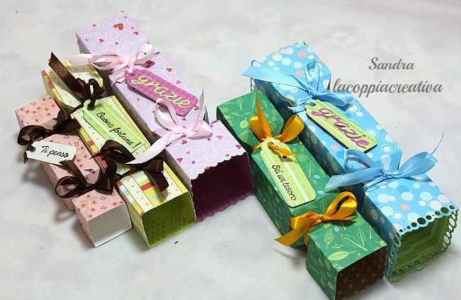Candy box tutorial con Envelope punch board | l'arte vista da me