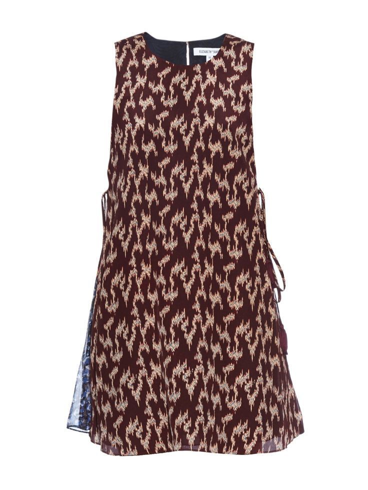 Dayne ikat-print silk dress | Elizabeth And James | MATCHESFASHION.COM US