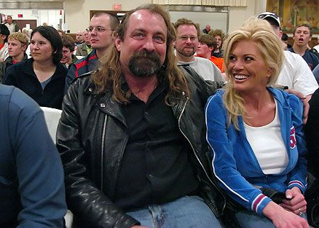 Magnum TA (Terry Allen) & his wife Courtney Shattuck. Courtney was previously married to Tully Blanchard, with whom she has four children (Taylor, Tanner, Tessa, & Tally). Allen & Shattuck are the parents of twins Lucy & Tucker, who were born in October 2007. Allen also has a son from a previous relationship.