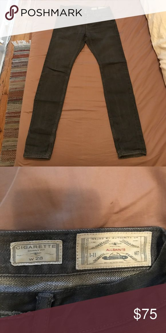 All Saints men's cigarette skinny jean Very good condition - worn only a handful of times All Saints Jeans Skinny