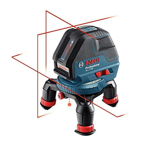 Awesome Bosch GLL Three Line Laser with Layout Beam http