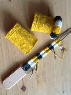 "Fasta maskor och lösa funderingar: En egen gaffel till frans | How to make a ""fork"" for another type of kavelfrans"