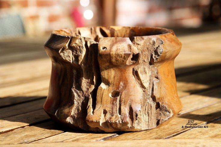 Schüsseln & Schalen - Holzschale, Dekoschale, Schale, Schüssel, Holz - ein Designerstück von Birgit-Drewelius bei DaWanda