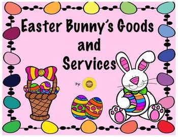 Teach your first graders about Goods and Services with this little activities reader! What better way to get your students excited about Goods and Services than to apply it to their real world by using Easter and the Easter Bunny to introduce and compare Goods and Services.