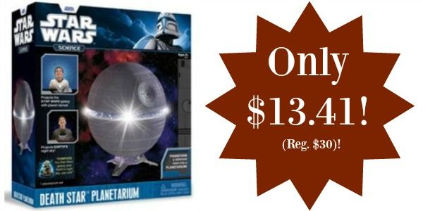 Star Wars Science Death Star Planetarium Only $13.41 (Reg. $30)!