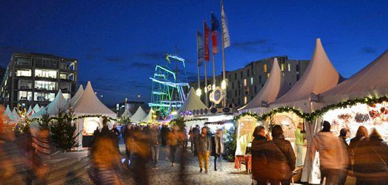 Hafen-Weihnachtsmarkt am Schokoladenmuseum | koeln.de