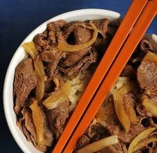 This is my photo. I mean, I actually took this image and made that food. I just happened to run across it while I was doing a search to find a Yoshinoya. It's like a Japanese McDonald's only instead of burgers they have beef bowl; a magical food made of happy thoughts and drunk nights. I clicked on it because I thought it was a good shot. I've never given myself an unintentional ego boost before so, that's pretty cool. :) The full version is here…