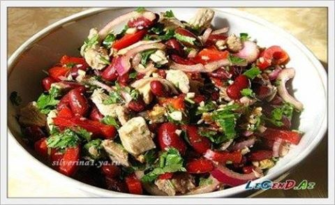 Azerbaijani cuisine has a rich variety of salads from a for Azerbaijani cuisine