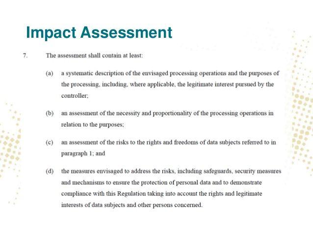 65 best GDPR images on Pinterest General data protection - sample it risk assessment