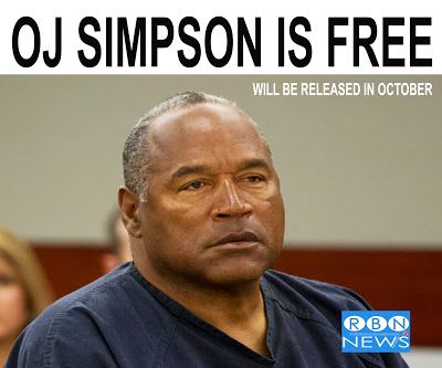 rulabrown.com: OJ SIMPSON IS FREE....WILL BE RELEASED IN OCTOBER ...