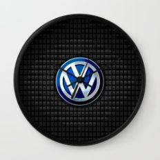 VW logo Wall Clock