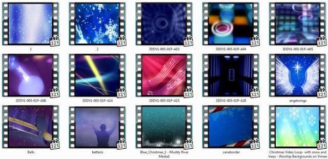 100 Background EasyWorship format AVI dan MPEG Vidio untuk ...