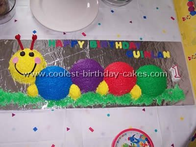 Coolest Baby Einstein Caterpillar Cake Photos And How To Tips