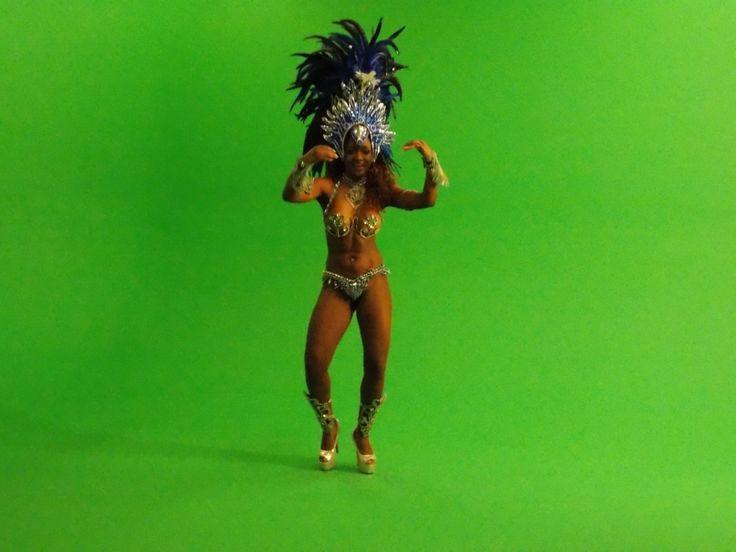 Brazilian Samba Dancer-Video Shoot www.streets-united.com