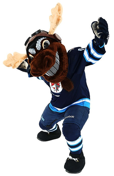 Mick E. Moose - Winnipeg Jets - Fan Zone