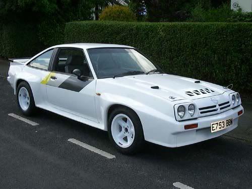 Opel Manta 400 - rare road version. Gorgeous.