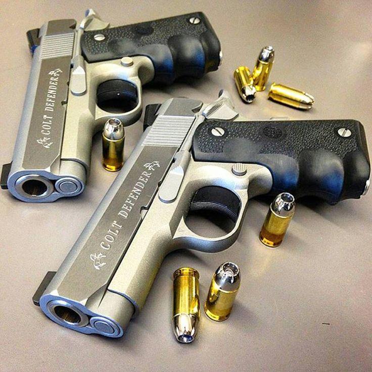 Colt .45acp Defender Pistols. Find our speedloader now!  http://www.amazon.com/shops/raeind
