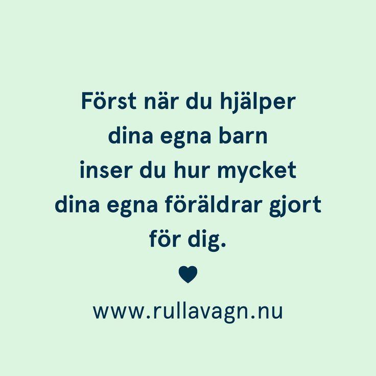 Föräldrar / Citat, humor, quotes och ordspråk från Rulla vagn om att vara förälder, föräldraskap, mamma och pappa / www.rullavagn.nu
