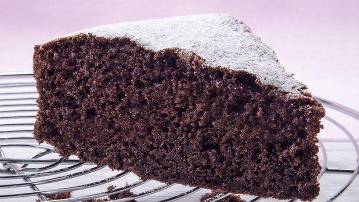 It's the crazy chocolate cake!