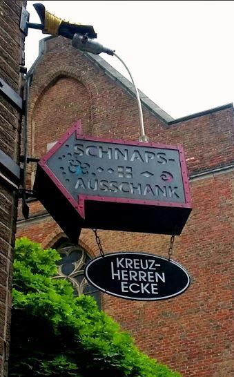 Schnaps-Ausschank, Altstadt Düsseldorf - Foto: S. Hopp