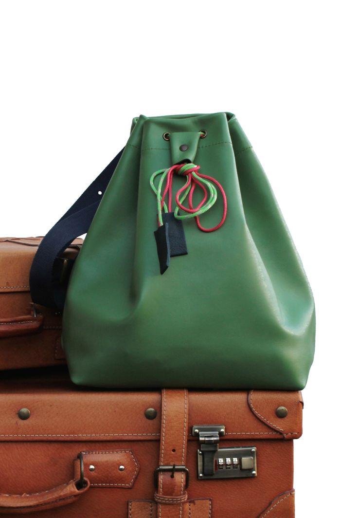 Green hands free bag  #2016 #Spring #BorsebyD