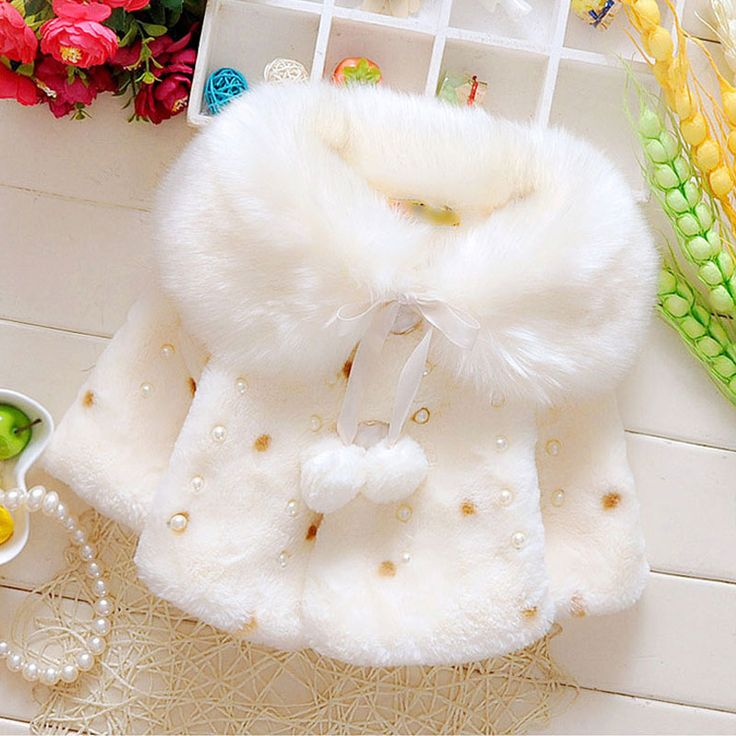 >> Click to Buy << 2016 autumn winter girls baby clothes thick fur collar jacket coat for baby girls clothing Christmas birthday outerwear jackets #Affiliate