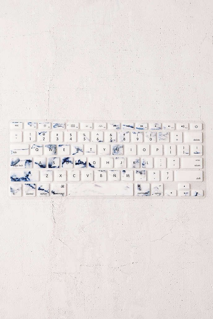 Obsessed with this marble keyboard cover.