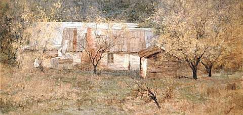 CLARA SOUTHERN | THE ARTIST'S HOME, c. 1909