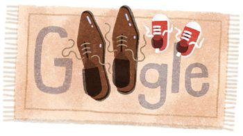 Father's Day 2016 (Germany)  Date: May 5 2016  Location: Germany  Tags: shoes child doormat parents father National Holiday