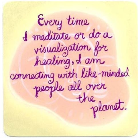 connect with Like minded people.... Louise Hay