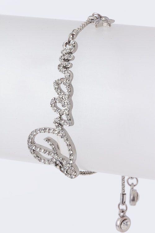 Silver Crystal Dream Bracelet <3