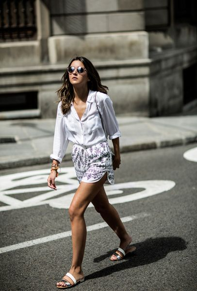Work Shorts: 21 Office-Friendly Outfit Ideas   StyleCaster