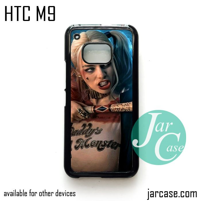 Harley Quenn Phone Case for HTC One M9 case and other HTC Devices