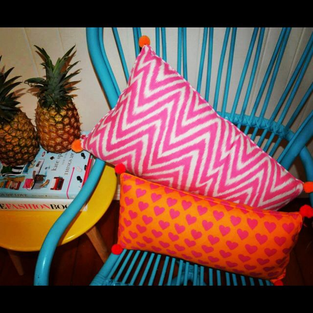 ACP cushions, $25.00AUD. You can buy them in 50cm X 50cm or 40cm X 60cm. Visit www.alongcamepoppet.com to buy