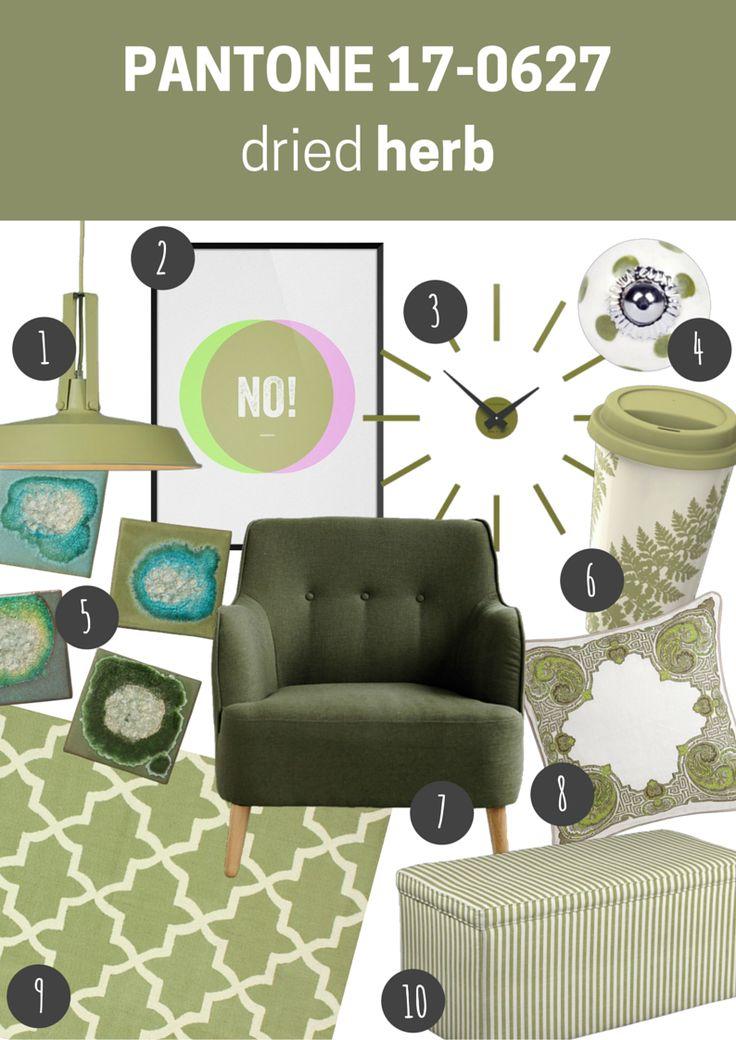 pantone 17-0627 dried herb   meble i dodatki do wnętrz w kolorze dried herb // dried herb furniture and home accessories
