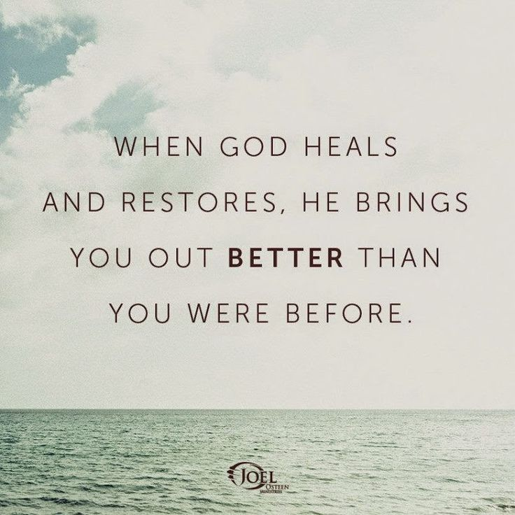 God Can Heal Quotes: Joel Osteen Quotes 002