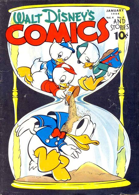 Pencil Ink: a blog featuring golden, silver and bronze age comic book art and artists: Walt Disney's Comics and Stories #40 - Carl Barks ...