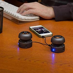 X-Mini Capsule Speakers, max version.
