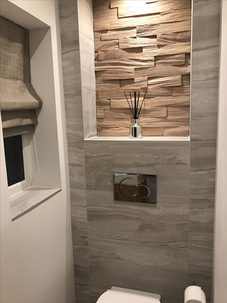 Porcelanosa Wood Wall Pure Tiles mixed with B&Q Tiles