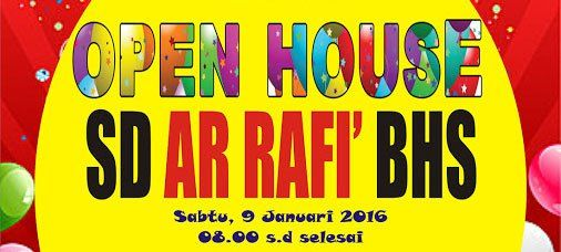 [Video] Open House SD Ar Rafi' BHS