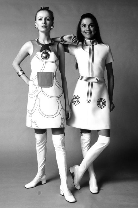 Click through stylish snapshots from the 1970s: