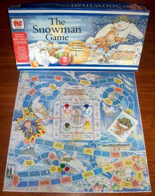 'The Snowman Game' Board Game