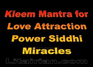 Kleem Mantra for Love Attraction Power Siddhi Miracles – Benefits